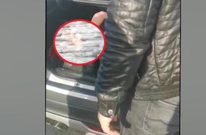 """50 manata """"baqaj""""da Bakıya gəlmək istəyən şəxs həbs edildi - FOTO"""