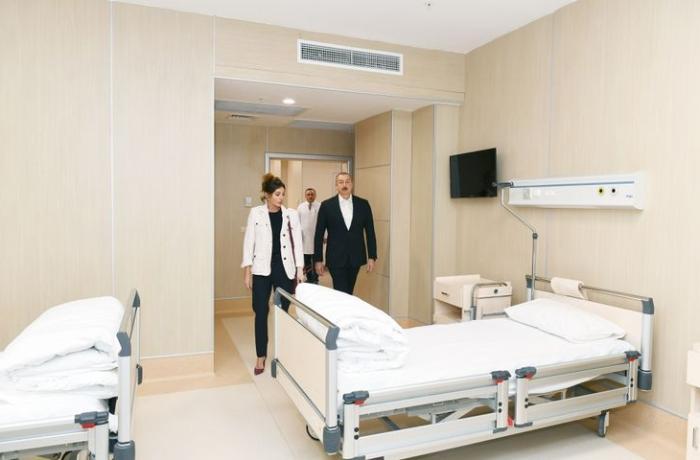 """Prezident Bakıda """"Yeni klinika""""nın açılışında iştirak edib - FOTOLAR"""