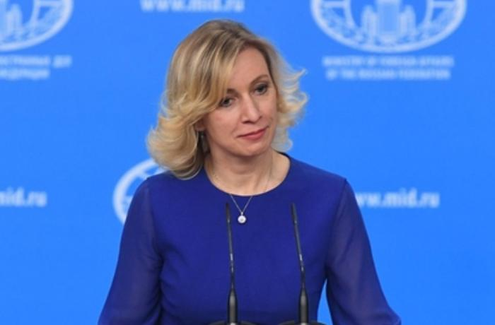 Mariya Zaxarova Londondan qaçan rusları tənqid etdi