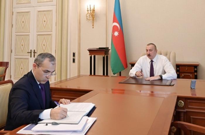 """Prezidentdən nazirə TAPŞIRIQ: """"Real vəziyyəti mənə məruzə edin ki..."""""""