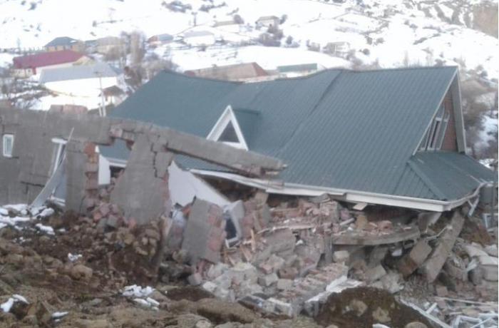 Azərbaycanda torpaq sürüşməsində 1 nəfər öldü - 2 nəfər yaralandı