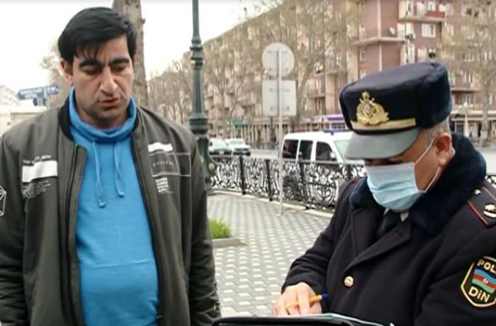 Gəncədə karantin rejimini pozan sakinlərə protokol tərtib edilib