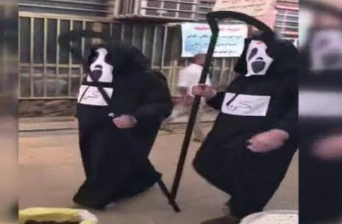 İranda bələdiyyə işçilərindən qəribə addım: Ölümü xatırlatmaq üçün... – VİDEO