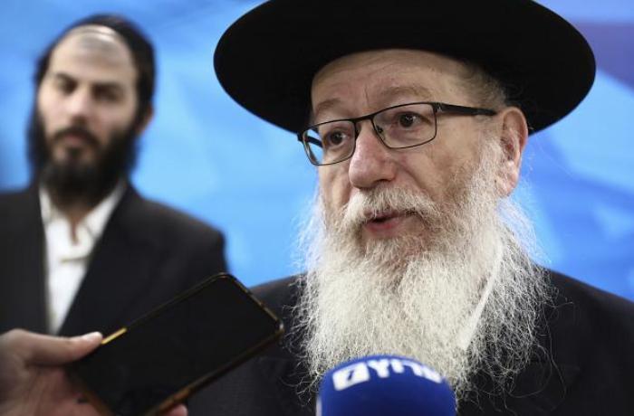İsrailin səhiyyə naziri istefa verdi
