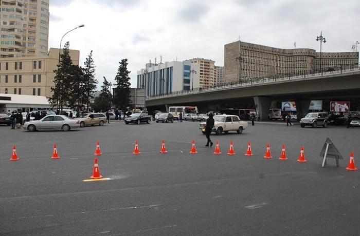 Sürücülərin nəzərinə - 20 Yanvar dairəsinə giriş bağlanır