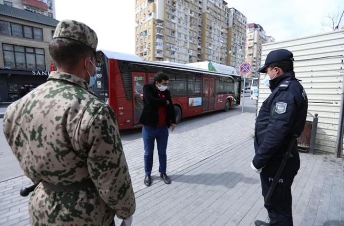 Sabahdan polis maska taxmayan vətəndaşları cərimələyəcək - RƏSMİ