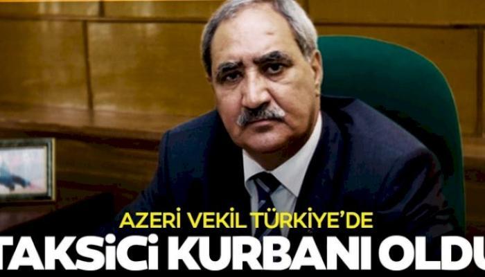 Fəzail Ağamalı Türkiyədə taksi sürücüsü tərəfindən qarət edildi - TƏFƏRRÜAT