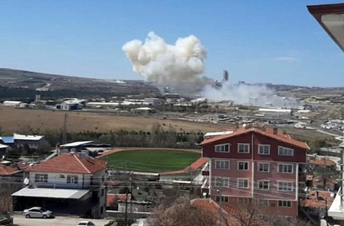 Türkiyənin raket zavoduna aid binada partlayış baş verib
