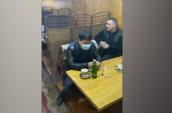 Karantin qaydalarını pozan kafe aşkarlandı - VİDEO