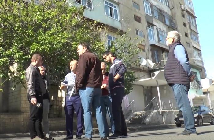 Yasamalda bu binaya gün ərzində fasilələrlə 6 saat su verilir - VİDEO + RƏS ...