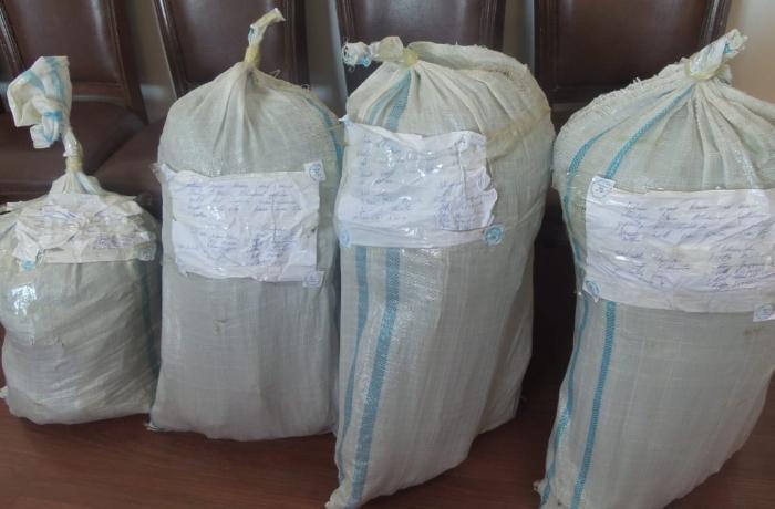 Balakəndə 5 nəfərdən 33 kq narkotik götürüldü - FOTO