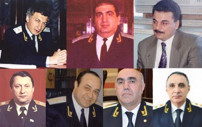 Azərbaycanın Baş prokurorları kimlər olub? - SİYAHI
