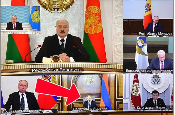 SSRİ-nin bərpasına çağırış…