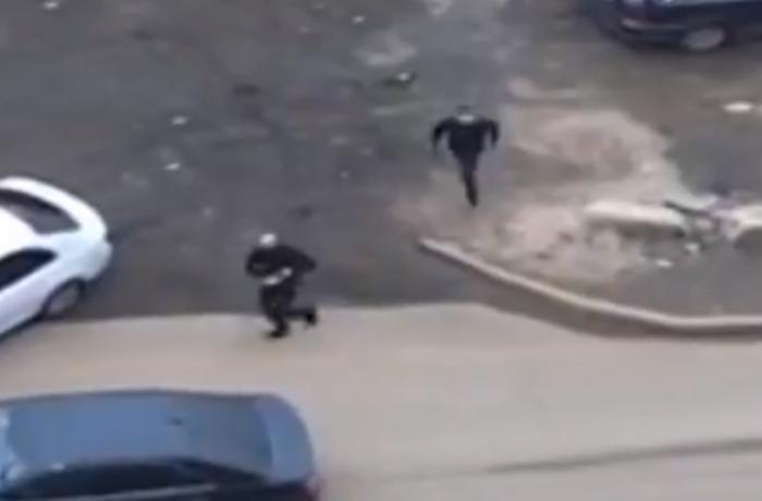 Moskvada silahlı atışma: 9 nəfər saxlanılıb - VİDEO
