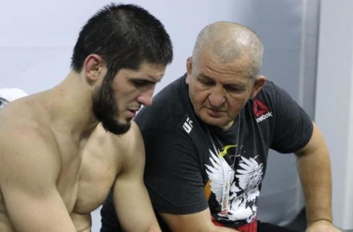 Həbibin atası Azərbaycan MMA Federasiyasının rəhbəri ilə döyüşünün eksklüziv videosu