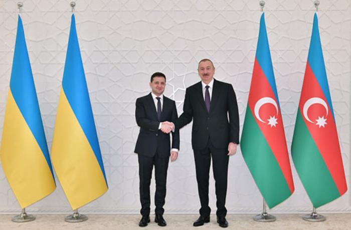 Ukrayna Prezidenti Azərbaycan Prezidentinə zəng edib