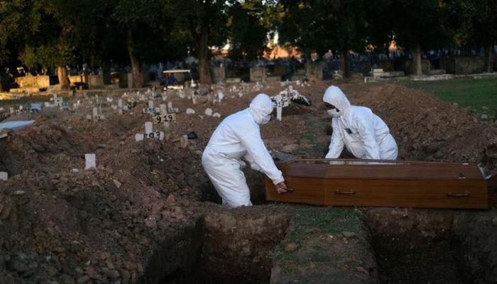 Dünyada 6 milyonu aştı: Mezarlarda yer kalmadı