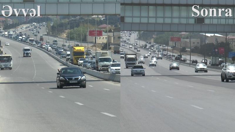 Bakı-Sumqayıt yoluna bir həftə əvvəl qoyulan betonlar niyə götürülür? – RƏSMİ AÇIQLAMA + VİDEO