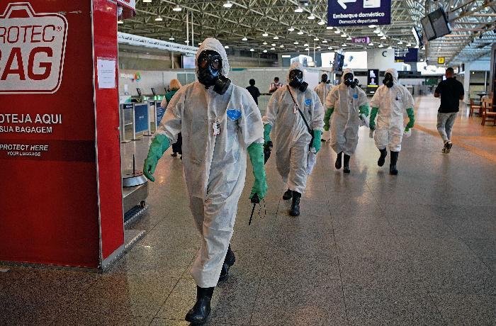 Braziliyada 24 saatda minə yaxın insan koronavirusdan öldü