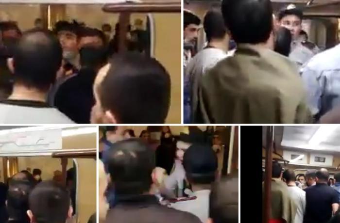 Metrodakı insidentlə bağlı DİN-dən AÇIQLAMA + VİDEO
