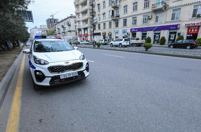 Roadblocks will be set up in Baku, several districts tonight