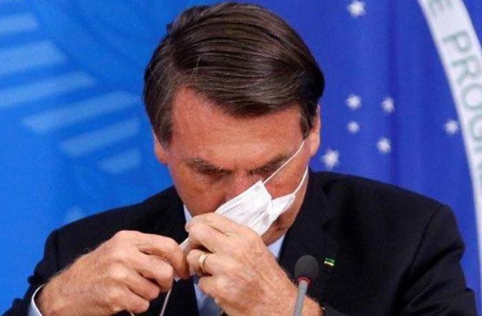 Koronavirusa yoluxan Braziliya prezidenti istifadə etdiyi dərmanın adını AÇIQLADI