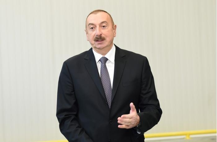 Prezident Tərtərin icra başçısına irad bildirdi