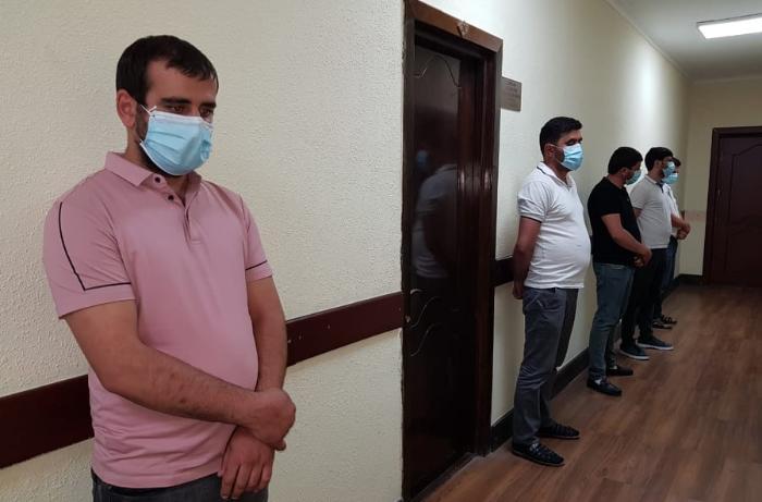 Şəmkirdə karantin qaydalarını pozan çay evi sahibi cərimə olundu - FOTO