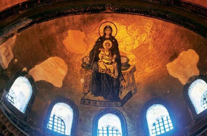 Məscidə çevrilən Ayasofyadakı ikonaların aqibəti necə olacaq? – AÇIQLAMA