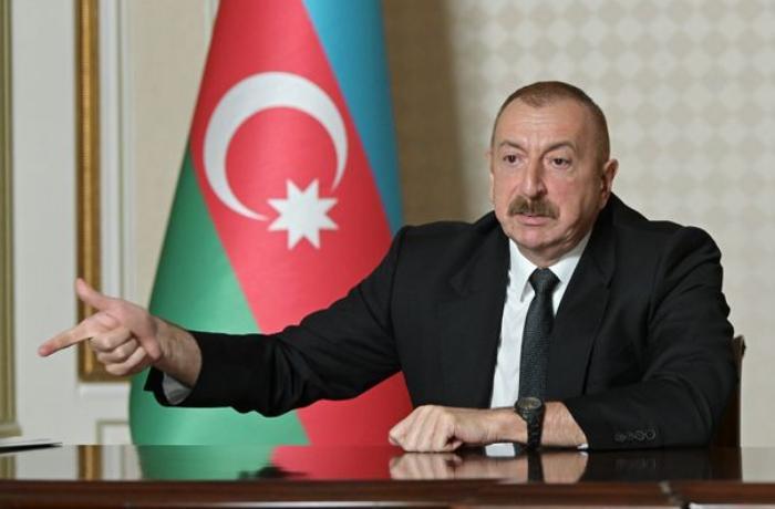 """İlham Əliyev: """"Ermənistan müharibəyə hazırlaşır"""""""
