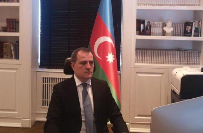 Ceyhun Bayramov XİN başçısı kimi ilk iclasına qatıldı