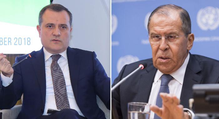Ceyhun Bayramov Sergey Lavrovla telefonda sərhəddəki vəziyyət barədə danışı ...