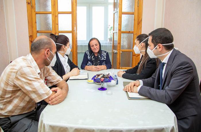 Mehriban Əliyeva şəhid olan 12 hərbçi ilə bağlı tapşırıq verdi - FOTO