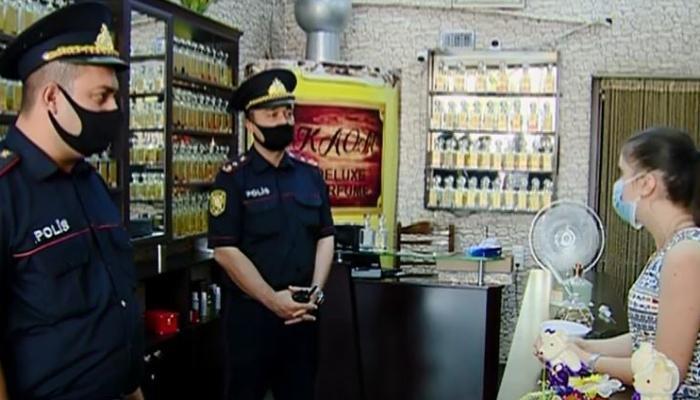 Gəncədə xüsusi karantin rejiminin tələblərinin icrasına nəzarət davam etdirilir