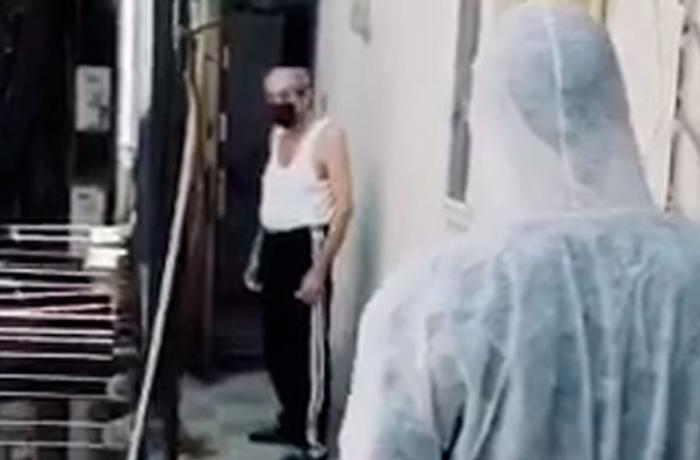 Bakıda daha bir koronavirus xəstəsi mağazada saxlanıldı - VİDEO