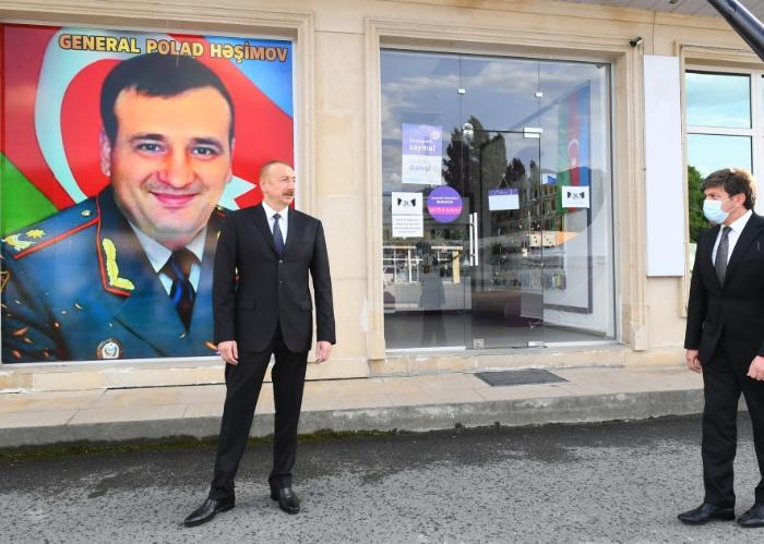 Именем погибшего генерала Полада Гашимова назовут улицу в Габале