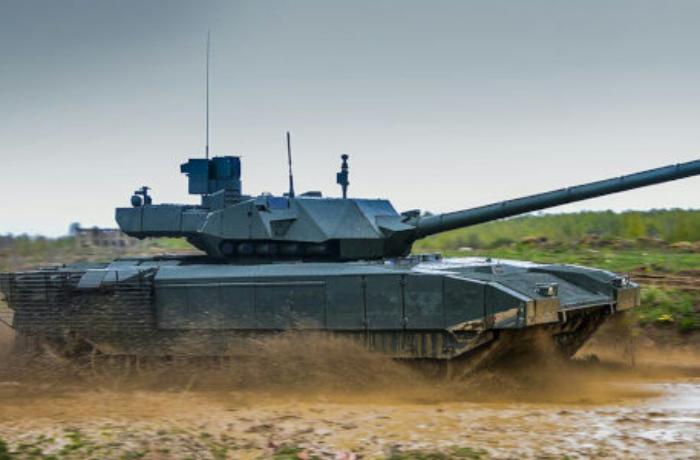Rusiyada robot tank sınaqdan keçirildi