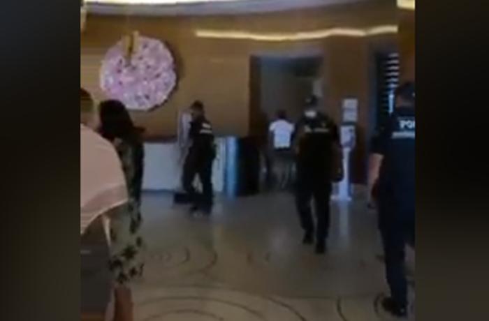 """Polis """"Fairmont Baku""""da əməliyyat keçirdi - saxlanılanlar var - VİDEO - YENİLƏNİB"""