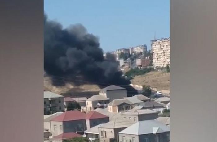 Suraxanı rayonundakı yanğının səbəbi bəlli oldu - YENİLƏNİB + VİDEO