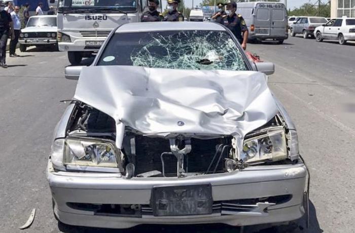Baş həkimin oğlu avtomobillə iki qadını vuraraq öldürüb - FOTOLAR