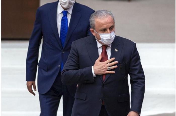 Türkiyə Böyük Millət Məclisinə yeni sədr seçildi - FOTO