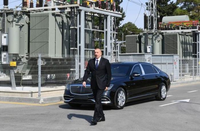 Prezident Bakıda yenidən qurulan yarımstansiyasının açılışında iştirak edib - FOTOLAR