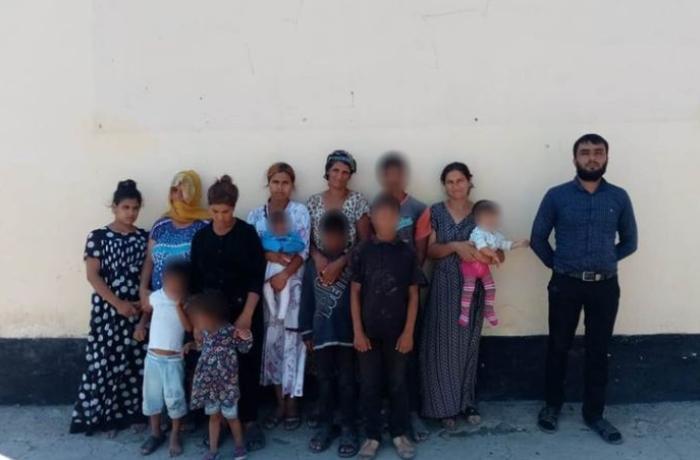 Yarısı azyaşlı olmaqla 14 nəfərin Azərbaycandan Gürcüstana keçməsinin qarşısı alınıb