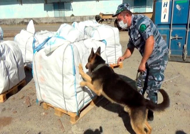 200 kiloqram heroinin ölkədən çıxarılmasının qarşısı alınıb - FOTOLAR