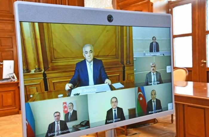 Azərbaycan İnvestisiya Holdinqi Müşahidə Şurasının ilk iclası keçirdi