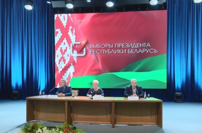 Belarusda prezident seçkilərinin yekun nəticələri açıqlandı