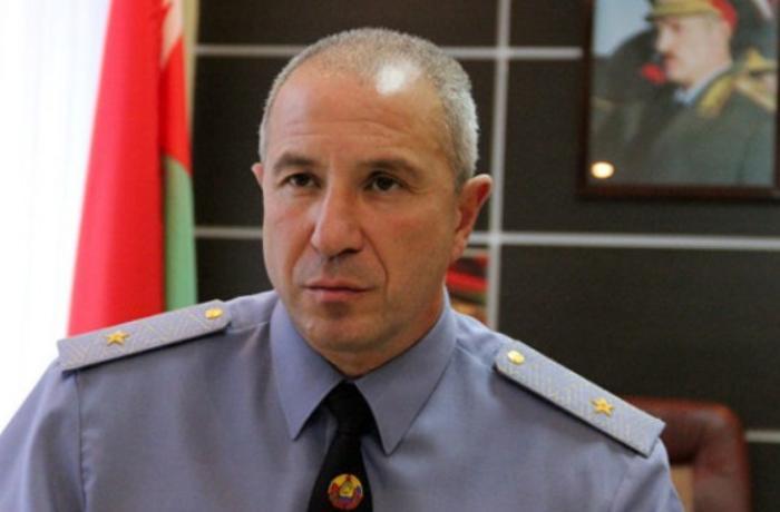 Belarus DİN rəhbəri üzr istədi