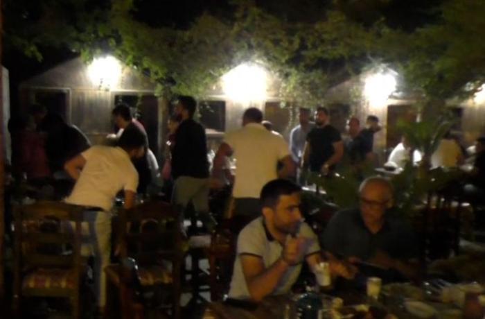 Abşeronda gizli fəaliyyət göstərən restoran sahibi 3000 manat cərimələndi - VİDEO
