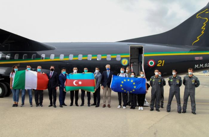 EU supported team of Italian doctors arrive in Azerbaijan
