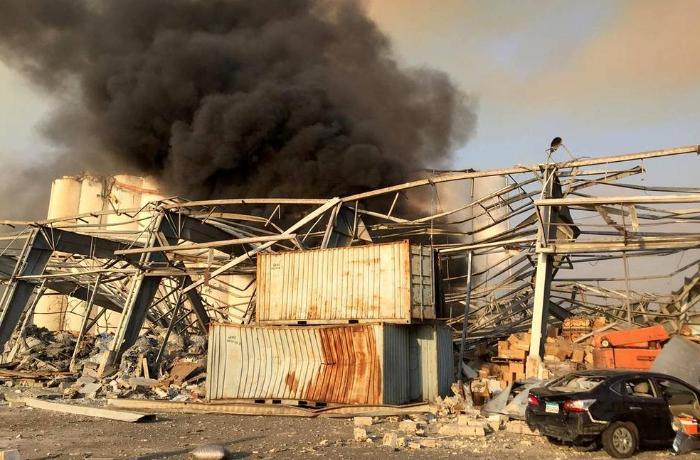 Beyrut partlayışında ölənlərin sayı artdı